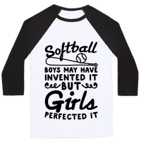 Softball Was Perfected By Girls Baseball