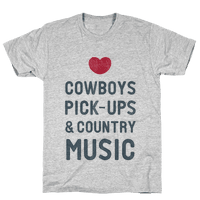 Cowboys, Pickups, and Country Music