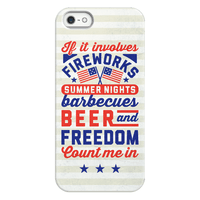 If It Involves Fireworks Count Me In Phonecase