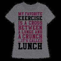 Lunge Crunch Lunch