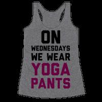 On Wednesdays We Wear Yoga Pants