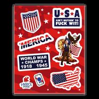 Epic American Sticker