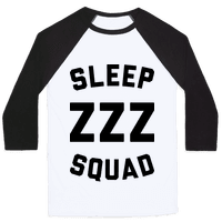 Sleep ZZZ Squad Baseball