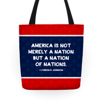 America Is Not Merely A Nation But A Nation Of Nations