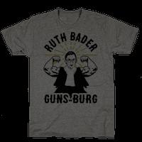 Ruth Bader Guns-Burg Tee