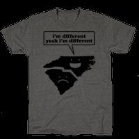 North Carolina: I'm Different