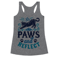 Paws And Reflect (Cat) Racerback