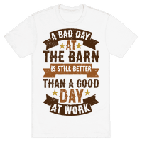 A Bad Day At The Barn Is Still Better Than A Good Day At Work