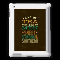 I Like My Tea How I Like My Men Tabletcase
