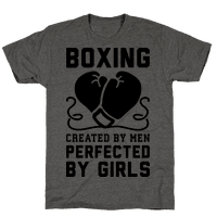 Boxing Created By Men Perfected By Girls