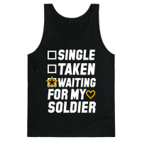 Waiting For My Soldier (Army Tank) Tank