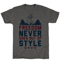 Freedom Never Goes Out of Style (Patriotic Hoodie)