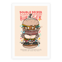 'Merican Double Decker Declaration of Food Freedom Burger Recipe