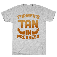 Farmer's Tan In Progress