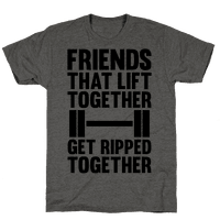 Friends That Lift Together Get Ripped Together