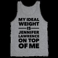 Ideal Weight (Jennifer Lawrence)