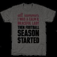 ...Then Football Season Started