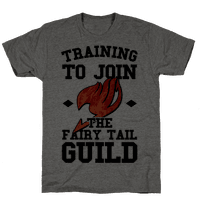 Training to Join the Fairy Tail Guild