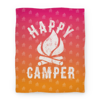 Happy Camper Blanket Blanket