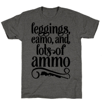 Leggings Camo And Lots of Ammo