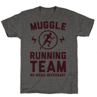 Muggle Running Team - No Magic Necessary Tee