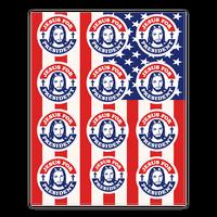 Jesus For President Sticker