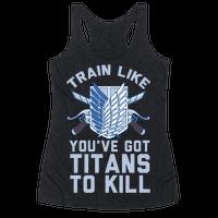 Titans To Kill Racerback