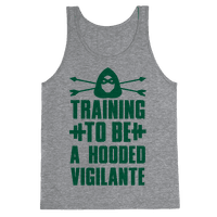 Training to be a Hooded Vigilante Tank