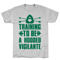 Training to be a Hooded Vigilante