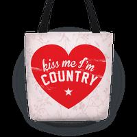 Kiss Me I'm Country