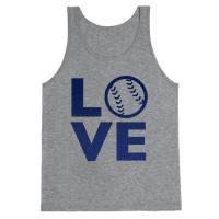 Love Baseball (Blue)