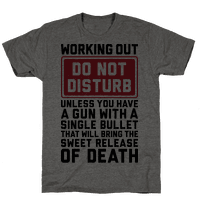 Working Out Do Not Disturb