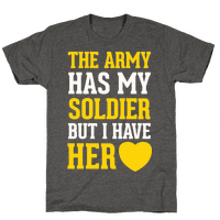 The Army Has My Soldier But I Have Her Heart