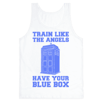 Train Like The Angels Have Your Blue Box