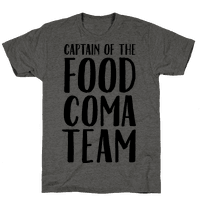 Captain of the Food Coma Team