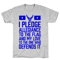 I Pledge Allegiance To The Flag (Air Force Tank)