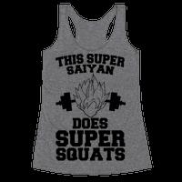 This Super Saiyan Does Super Squats