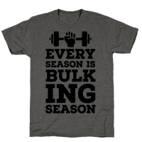 Every Season Is Bulking Season