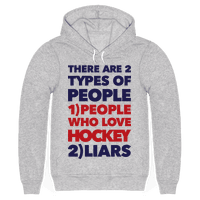 Hockey Lovers And Liars Hoodie