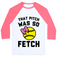 That Pitch Was So Fetch Baseball