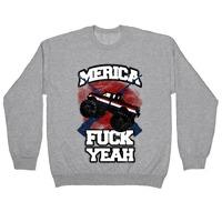 Unisex Classic Hooded Sweatshirt HOODIE Merica F$$K Yeah American Flag 4th July
