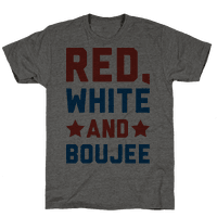 Red White And Boujee Tee
