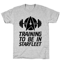 Training to be in Starfleet Tee
