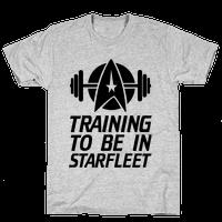 Training to be in Starfleet
