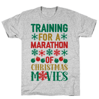 Training For A Marathon (Of Christmas Movies)