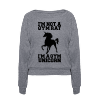 I'm Not A Gym Rat I'm A Gym Unicorn Pullover