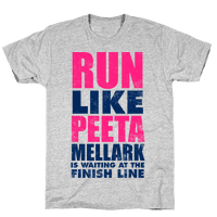 Run Like Peeta Mellark Is Waiting At The Finish Line