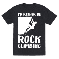 Id Rather Be Rock Climbing