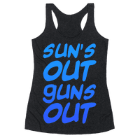 Sun's Out Guns Out (Blue)
