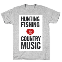 Hunting, Fishing, and Country Music